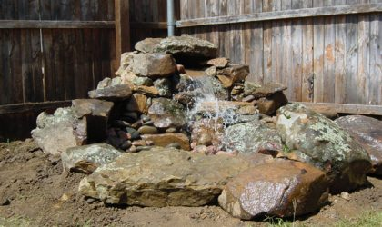 Disappearing Water Features by Impact Landscapes - North Dallas - 972-849-6443