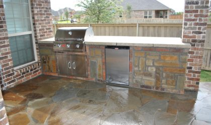 Outdoor Kitchens by Impact Landscapes by 972-849-6443